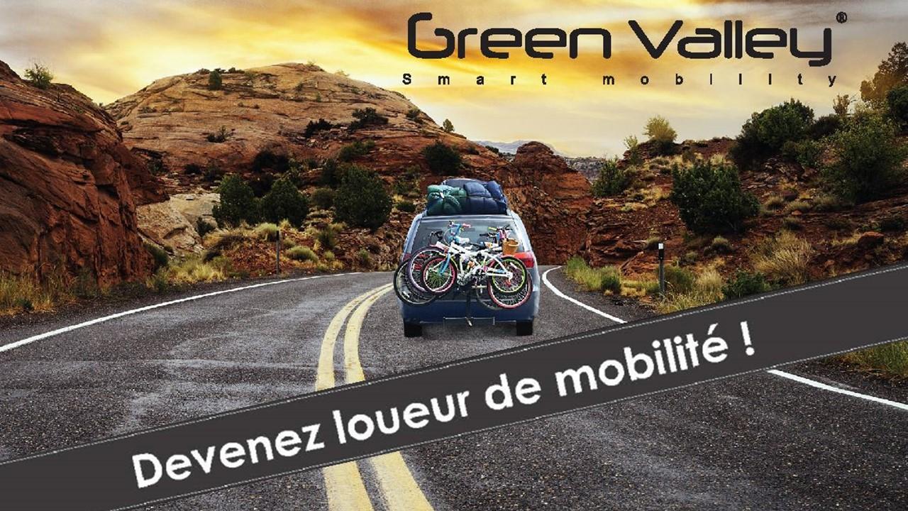 Location Green Valley : Nouveau loueur de mobilité
